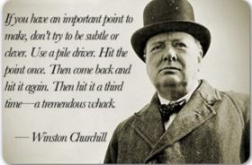 Sir Winston Churchill RIP
